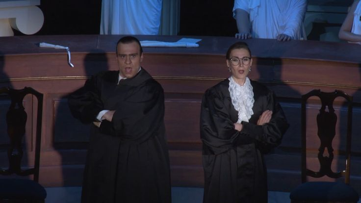 Scalia/Ginsburg - comic opera about the US Supreme Court Justices friction