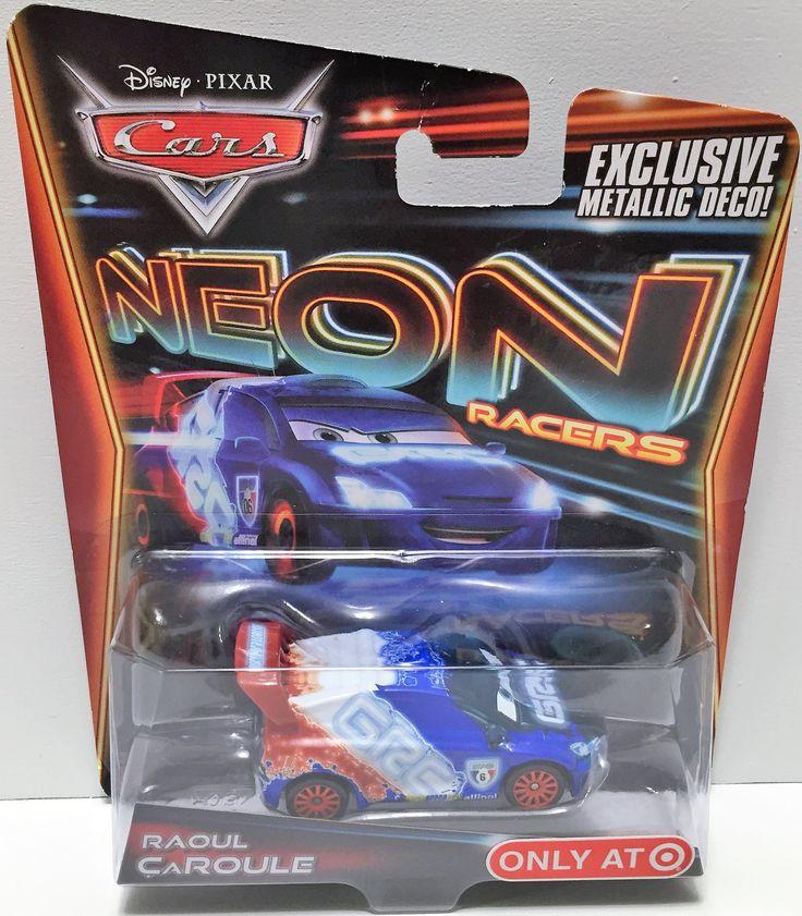 (TAS033625) - 2013 Mattel Disney Cars Neon Racer - Raoul Caroule