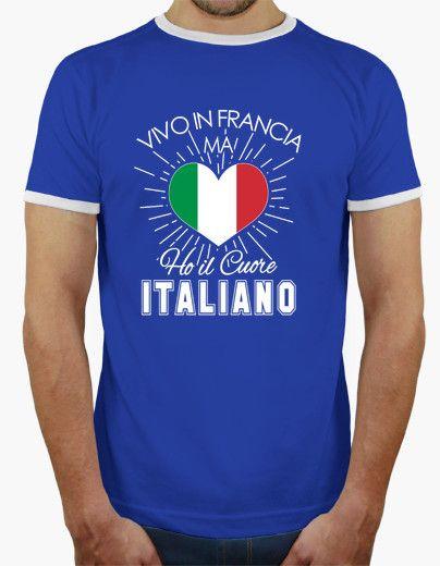 T-shirt Ho il Cuore Italiano