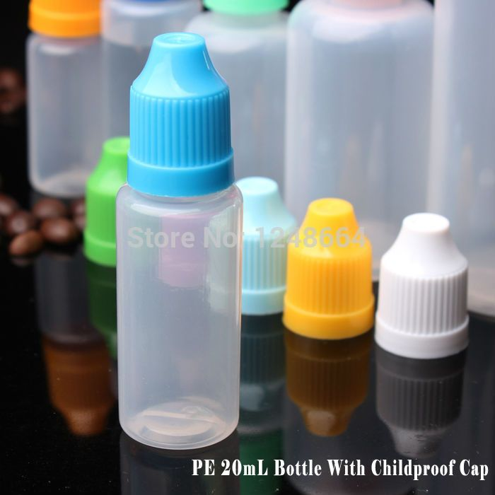 Industrial plastic container PE 30400PCS blue dropper bottle with childproof cap for e cig tanks,small plastic bottles wholesale