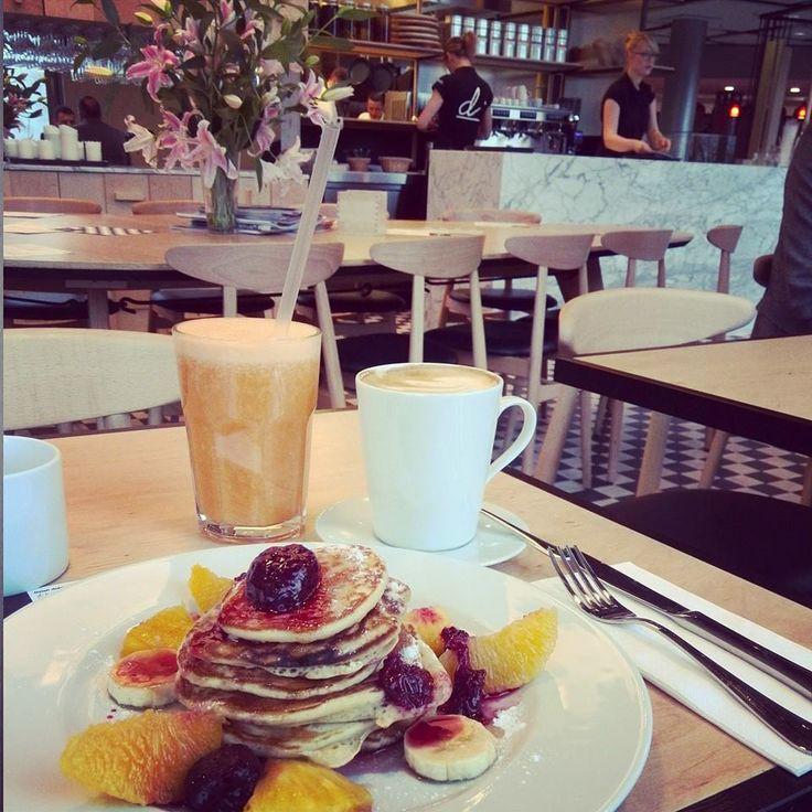 American pancakes, a jakże :) Na słodkie dzień dobry, na pochmurne popołudnie - zawsze działa :)  #difood, #dicafedeli