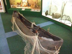 Balaton Museum in Keszthely - Fischerboot