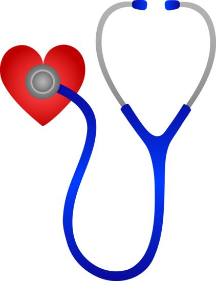 Just Hearts | Stethoscope Listening to Heart Beat - Free Clip Art.|  Hearts out to all the dedicated nurses !  pinb