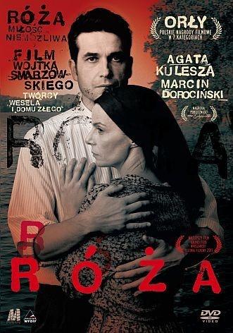 """""""Róża"""", reż. Wojciech Smarzowski; scen. Michał Szczerbic. Obsada: Marcin Dorociński, Agata Kulesza, Malwina Buss. 94 min."""