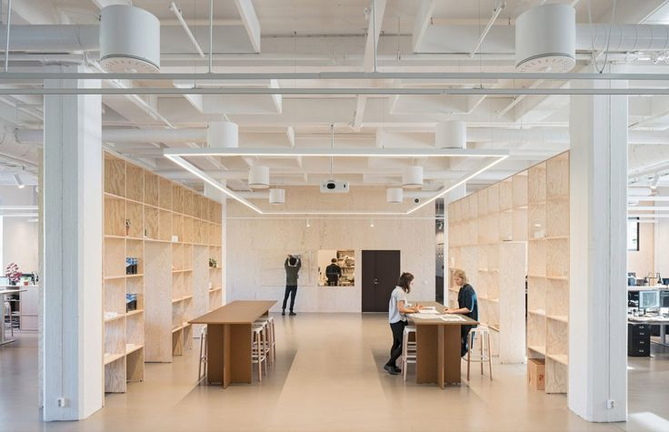 Kjellander Sjöberg KS-Studio Large-space workshop