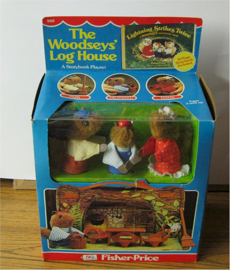 FISHER PRICE WOODSEY TOYS