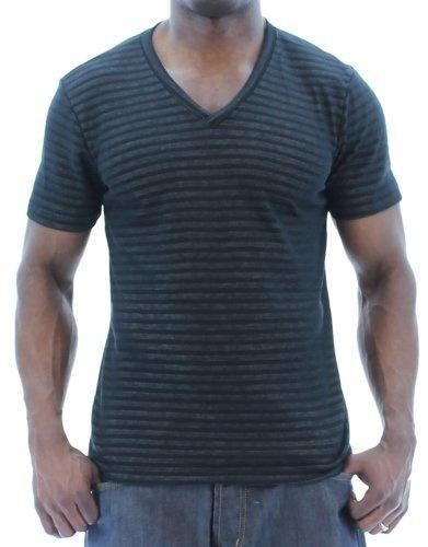 Black Web Mens Stripe V-Neck T-Shirt Tee Soft Cotton Black Size S Company 81,http://www.amazon.com/dp/B00CKYJF0A/ref=cm_sw_r_pi_dp_.A2Rrb2545724BB9