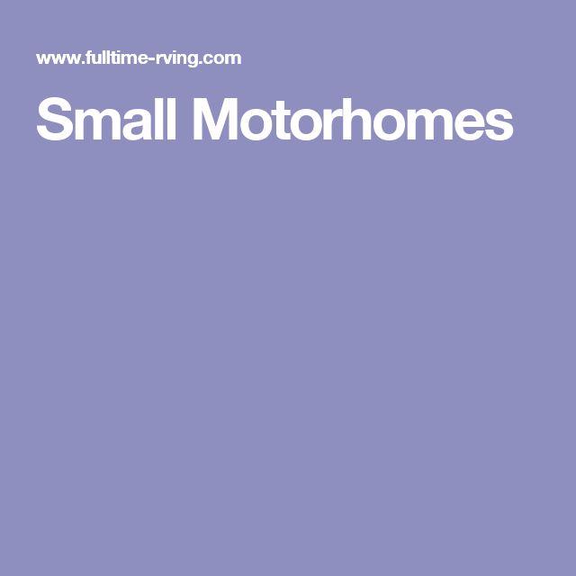 Small Motorhomes