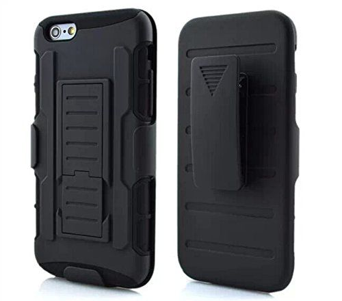 $8.59 + $2.99 shipping  iPhone 6 Plus Case, Sunny Hill Hard Shell Holster Combo Matte finish Protective Slim Case for Apple iPhone 6 Plus 5.5 inch with KickStand & Locking Belt Swivel Clip (Black) Sunny Hill http://www.amazon.com/dp/B010D9VF06/ref=cm_sw_r_pi_dp_2Loqwb14EC52H