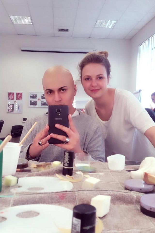 sfx bald makeup