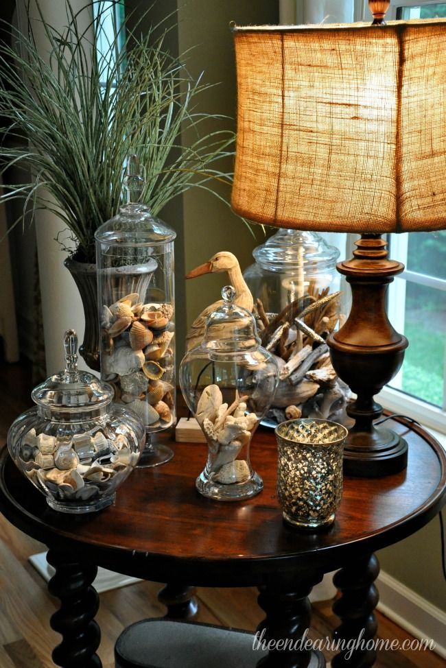 Best 25 seashell display ideas on pinterest shell - Display living room decorating ideas ...