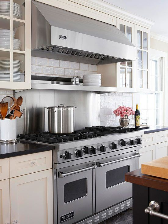 Traditional Farmhouse Kitchen Makeover Double Ovens