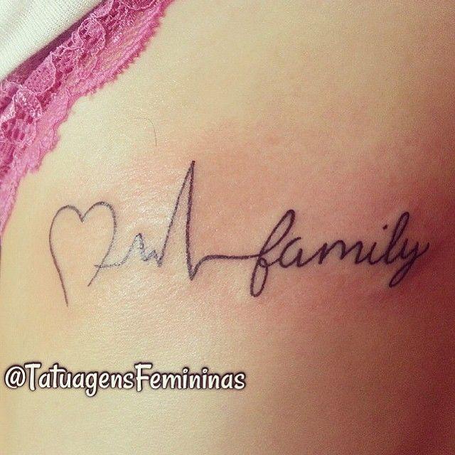 Enviada pela: @caroldrago__  Inspiração ↺  Inspired ↻ Inspirar não é = copiar ↹  #tattoo #tatuagem #tattooed #tattoogirl #tattooart #family #familia #TatuagensFemininas