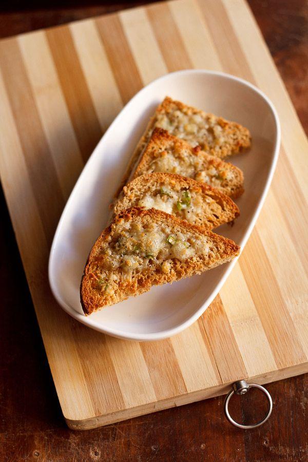 cheese chilli toast recipe, how to make cheese chilli toast recipe