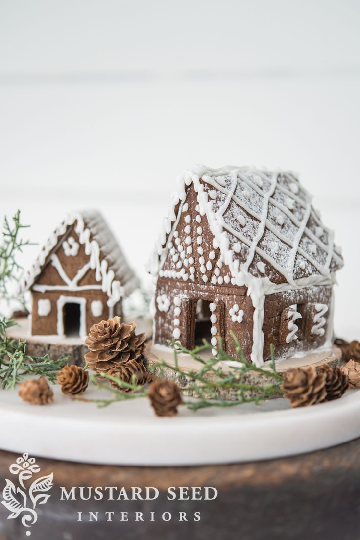 gingerbread house recipe & templates - Miss Mustard Seed