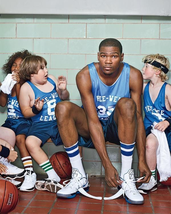 The kid with the curly blonde hair was in my class this last year! Go KD!