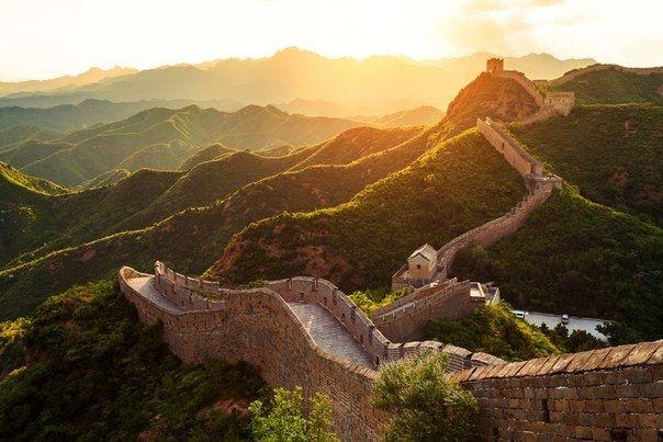 Одно из чудес света -Великая Китайская стена - Путешествуем вместе