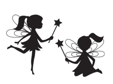 35 best images about fairy silouettes on pinterest for Fairy cut out template