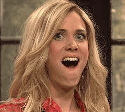 Tagged happy, snl, kristen wiig, surprised, the californians via Giphy http://ift.tt/1Jxe1fU