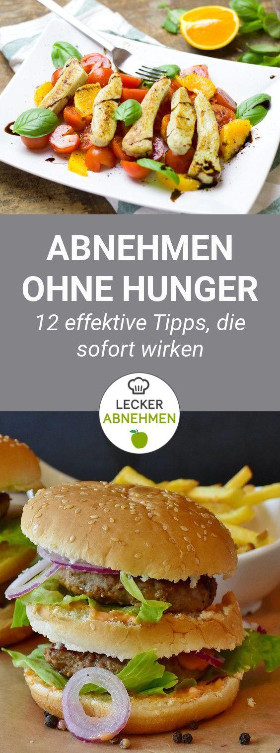 Hunger ist beim Abnehmen etwas, was man definitiv vermeiden will. Hier sind 12 effektive Tipps für das Abnehmen ohne Hunger!