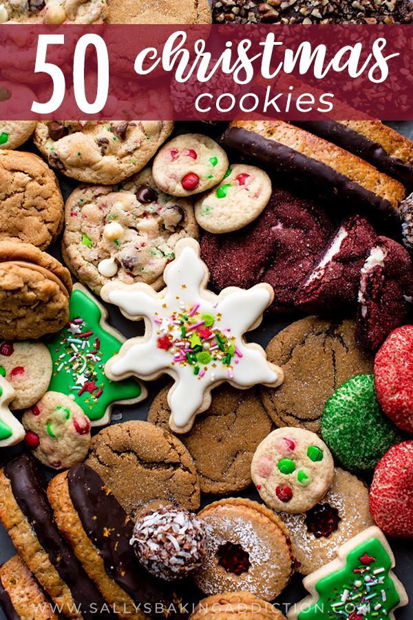 50 christmas cookie recipes including decorated sugar cookies biscotti linzer cookies no bake cookies cookies recipes christmas christmas food xmas cookies pinterest