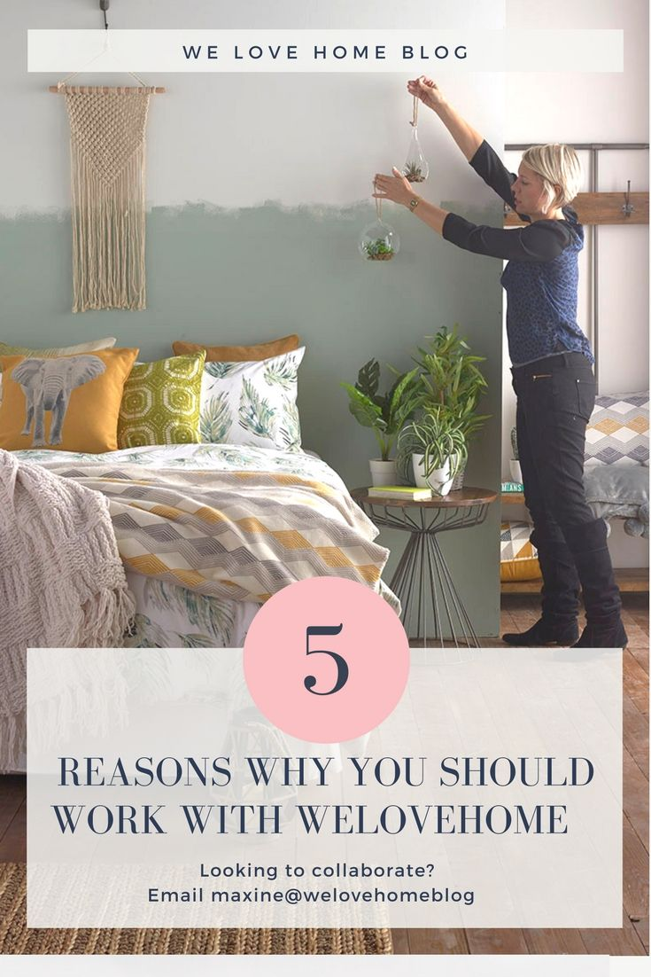 5 Reasons To Work With. 8558 best Love Home Bloggers images on Pinterest   Diy craft