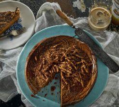 Dark chocolate tiramisu cheesecake #Dessert #Recipe #SouthAfrica