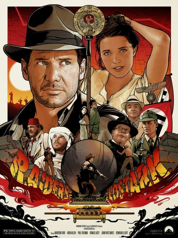 Indiana Jones and The Raiders of the Lost Ark by Joshua Budich
