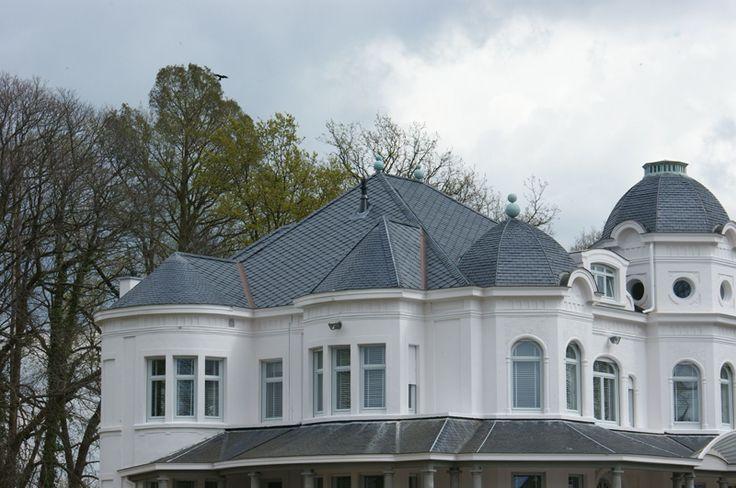 Les 25 meilleures id es concernant toiture ardoise sur for Construction longere neuve