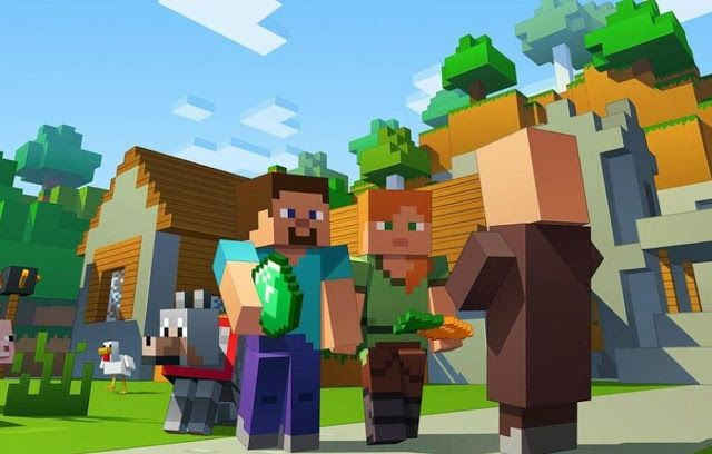 MINECRAFT 22x34-15038 OCELOT CHASE VIDEO GAME POSTER