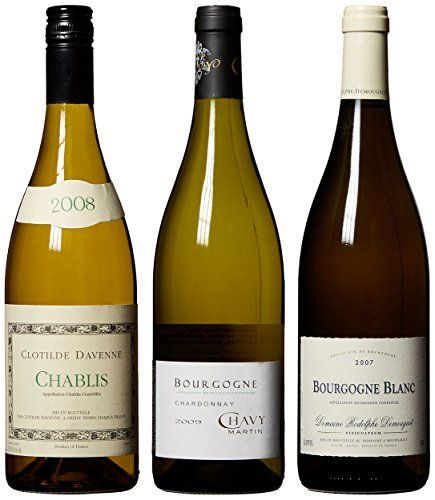Mixed Packs Wine - White Burgundy Mix Pack 3 x 750 mL *** Want to know more, click on the image.