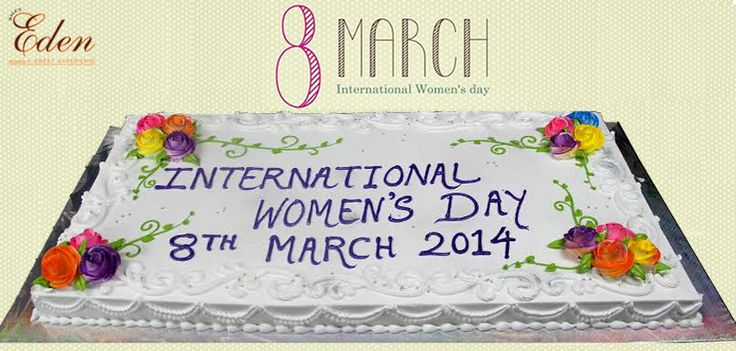 Women's day Special Cake www.daleseden.com — at Dale's Eden Cake Shop.