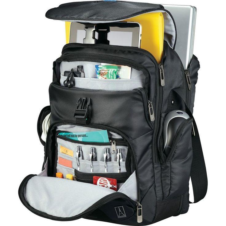 "Travelpro® TravelSmart TSA 15"" Laptop / MacBook Pro Vertical Messenger Bag - New #Travelpro"