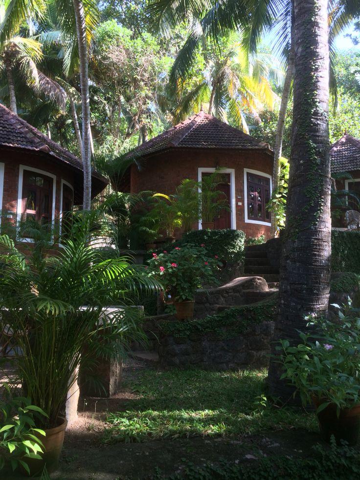 Manaltheeram Ayurvedic hospital. Kerala cottage..