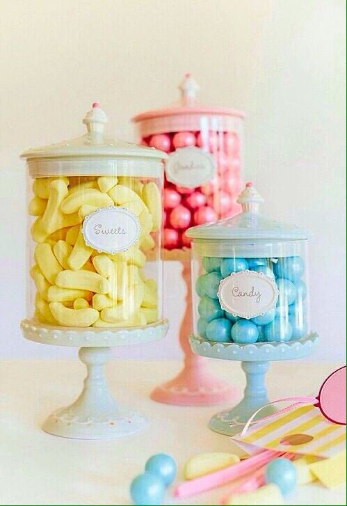Pastel Candy Makeup Tutorial: Pastel Candy, Candy Jars, Pretty Pastel
