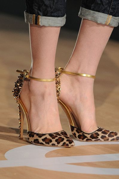 Leopard Print - 100 Gorgeous Shoes From Pinterest For S/S 2014 - Style Estate -