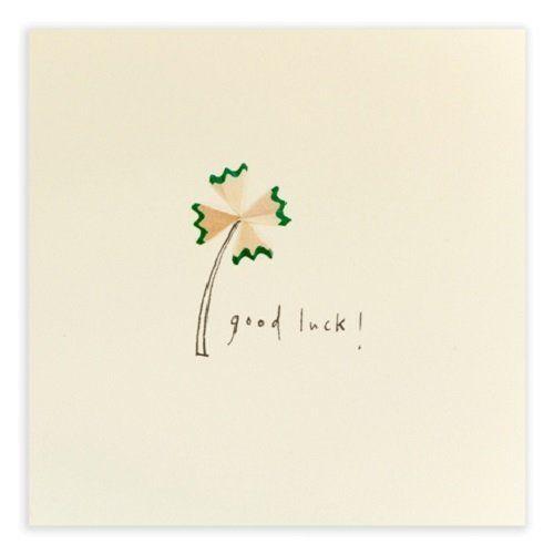 Ruth Jackson Pencil Shavings 'Good Luck' Greeting Card Ruth Jackson http://www.amazon.co.uk/dp/B00KB3BZX2/ref=cm_sw_r_pi_dp_YAmuvb1CYWJAW