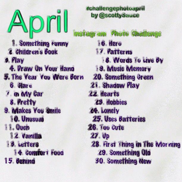 25 unique april photo challenge ideas on pinterest