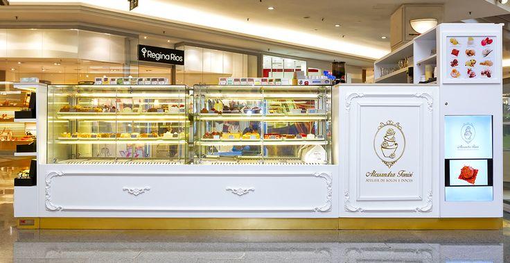 Quiosques para Shopping Alessandra-Tonisi