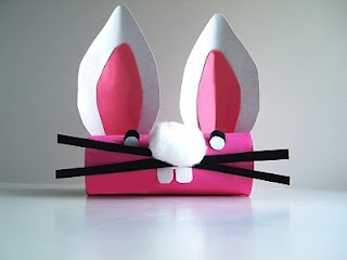 Wascally Wabbits (Rabbits, silly!): Toilet Paper Roll Bunny