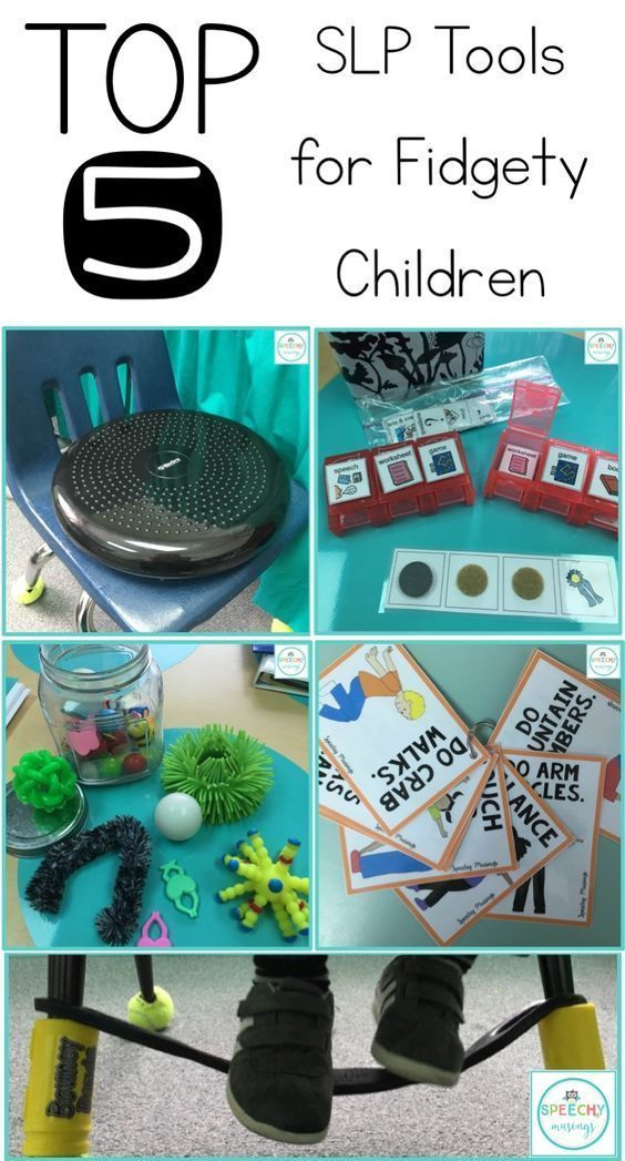 Speechy Musings: Top 5 speech therapy tools for little movers and fidgety children! Perfect for students with ADHD, autism, and learning disabilities!