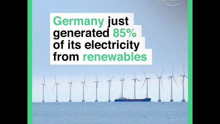 Congrats Germany!! What a smart way to save the environment, while claiming your nations energy independence. Germany blazes past US, setting new record for renewable energy production
