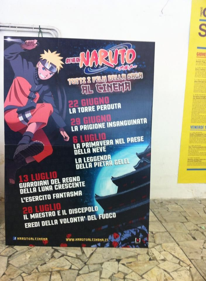 Comic-Soon: NARUTO: TUTTI I FILM AL CINEMA IN ITALIANO TRA GIU...