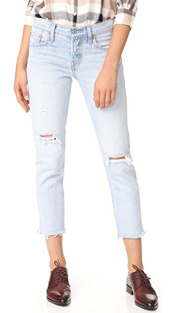 Levi's 501 Cropped Taper Jeans | SHOPBOP