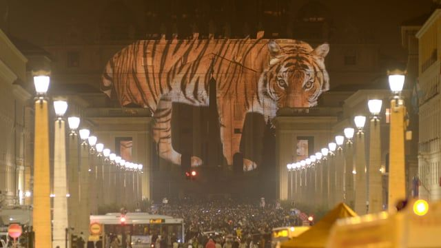 Watch a short recap of the breathtaking art projection at the #Vatican, on St. Peter's Basilica.  http://ourcommonhome.world/