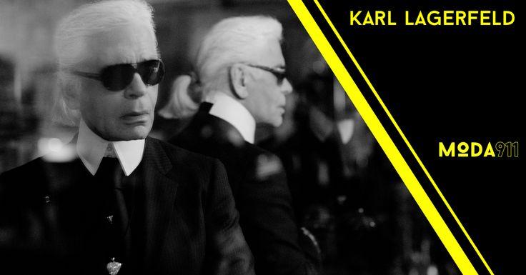 Descubre a #KarlLagerfeld #moda911 #personalidades #moda #diseñadores #iconos #fashionista #prestigio