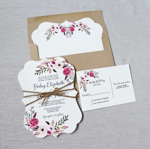 67 best Invitations images on Pinterest Free printables - download free wedding invitation templates for word