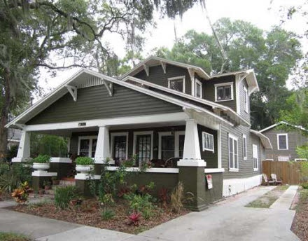 842 orange park ave lakeland fl 33801 white trim and for Craftsman homes for sale in florida