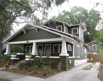 842 orange park ave lakeland fl 33801 white trim and for Craftsman homes for sale in florida