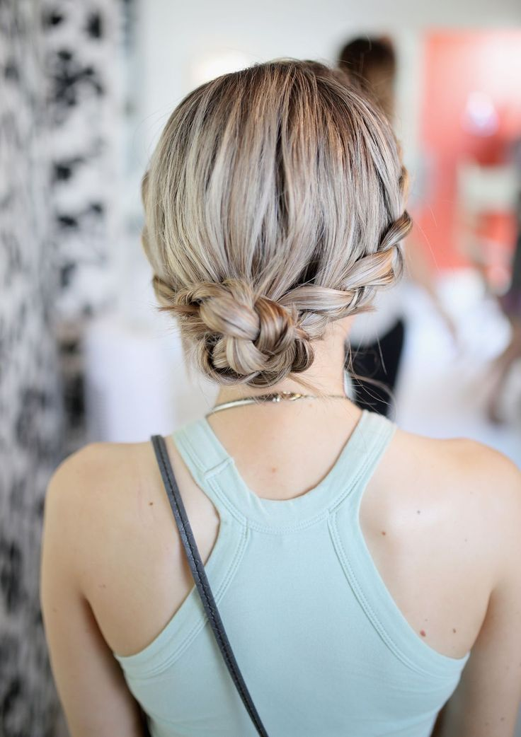 Tame that mane this Summer! Easy hairstyles for the muggiest of muggy. This low braid is a cute style to try for your next beach barbecue.